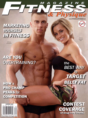 Fitness and Physique cover with Doug and Steph Miller